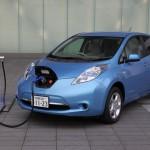 Das Elektrofahrzeug Nissan Leaf