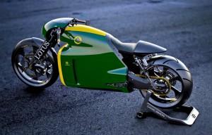 Das Lotus C-01 Motorrad