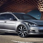 Der VW Golf Variant TDI BlueMotion