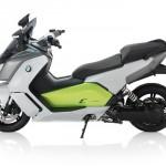 Der E-Roller C evolution von BMW