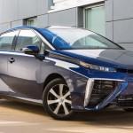 Toyota Mirai mit Brennstoffzelle