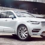 Der Volvo XC90 beweist Winterqualitäten