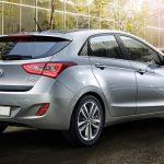Der Hyundai i30 blue 1.6  CRDi