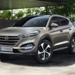 Hyundai Tucson blue 2.0 CRDi